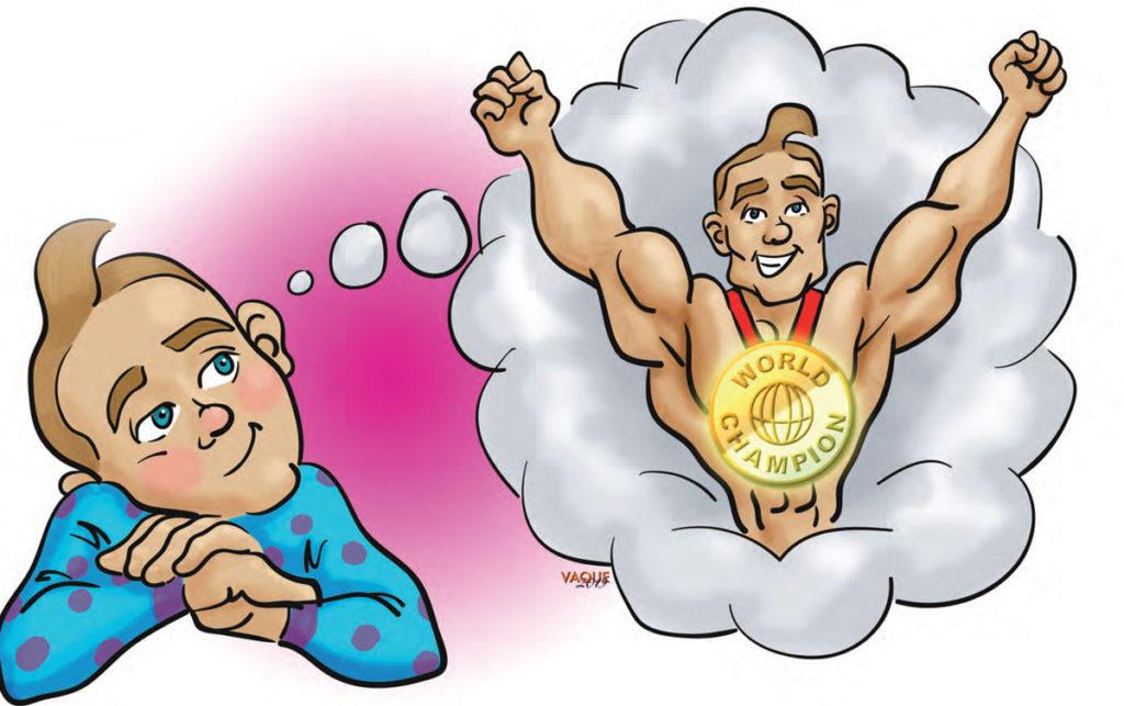Manejar la frustración: No seré campeón del Mundo